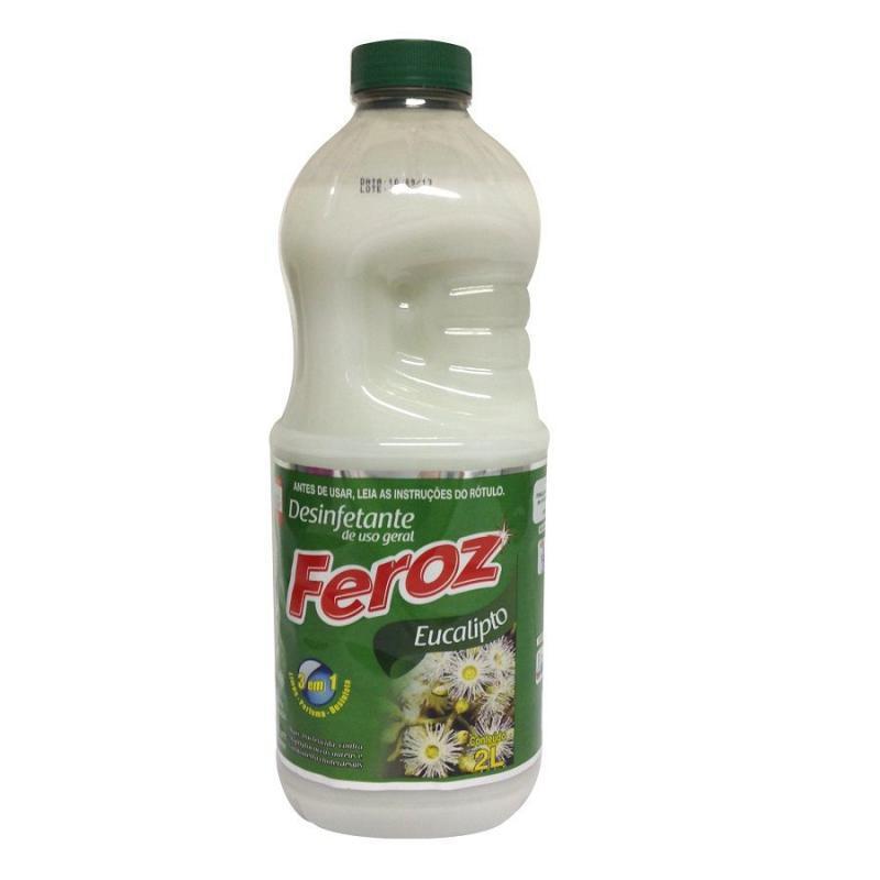 Desinfetante Feroz Eucalipto Pronto Uso 2 litros