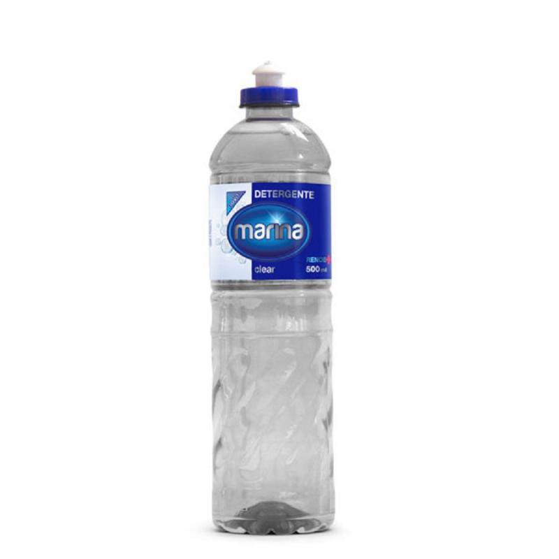 Detergente Líquido Marina Clear 500 ml