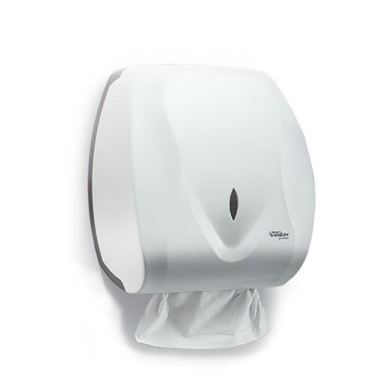 Dispenser Velox para Papel Toalha Interfolhado