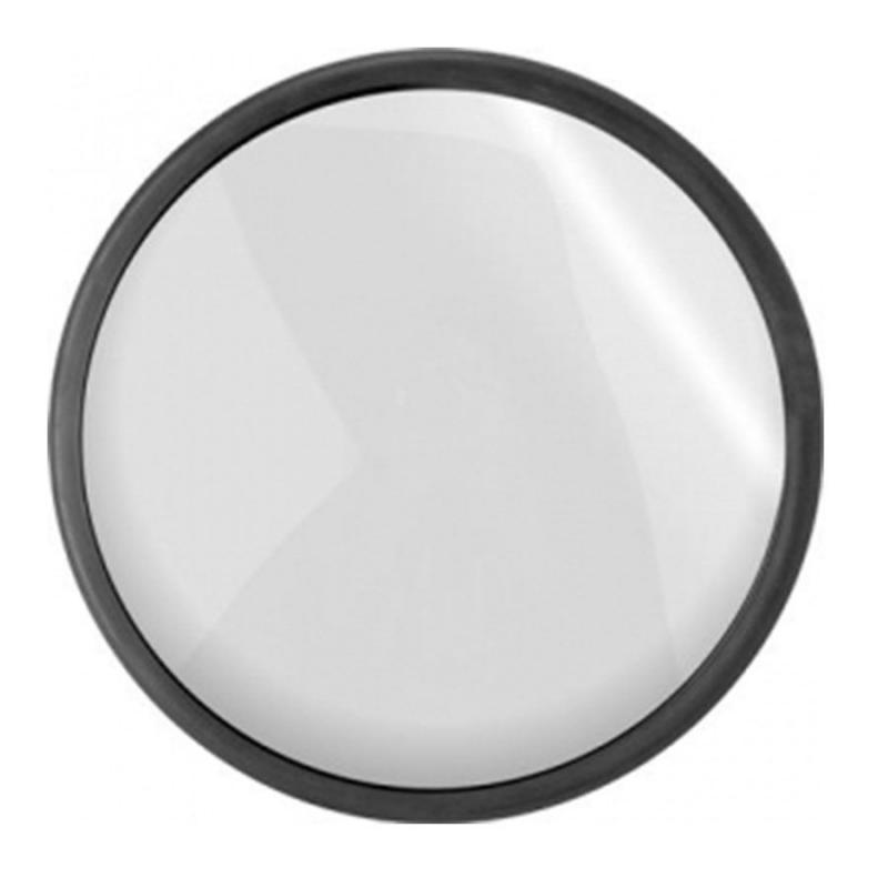 Espelho Convexo 30 cm com borda de Borracha