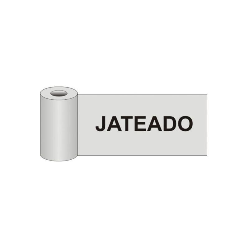 Fita de Demarcação Autoadesiva para Vidro Jateada 150 x 6 cm