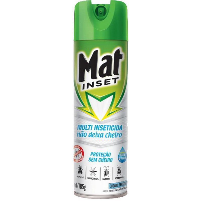 Inseticida Mat Aerosol sem Cheiro 270 ml