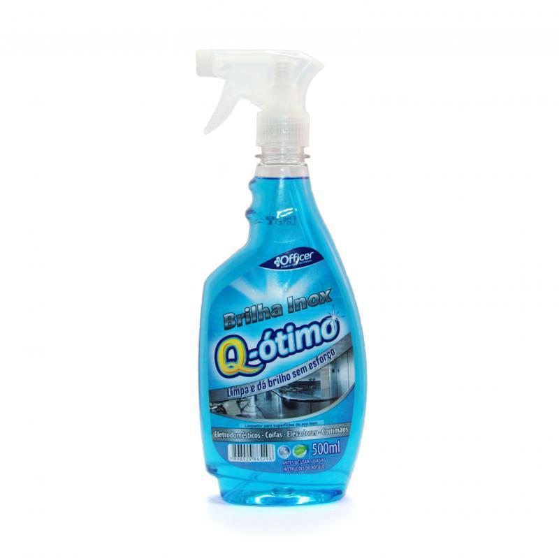 Limpa Inox com gatilho 500 ml Q-Ótimo