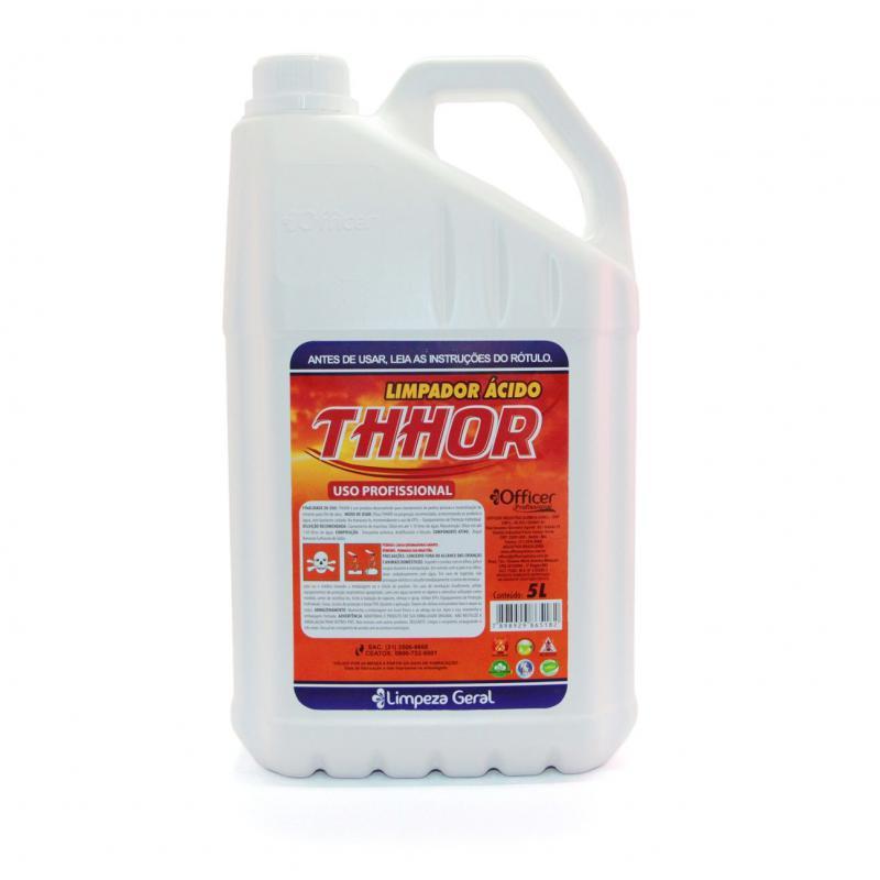 Limpa Pedra Ácido 5 litros Thhor