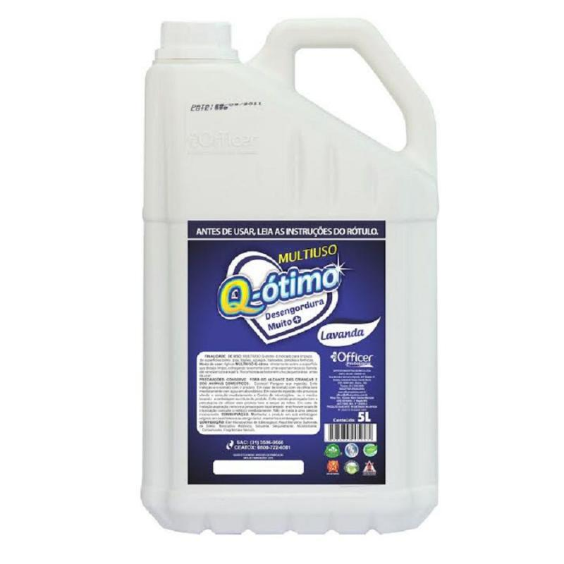 Limpador Multiuso Q-Ótimo Lavanda 5 litros