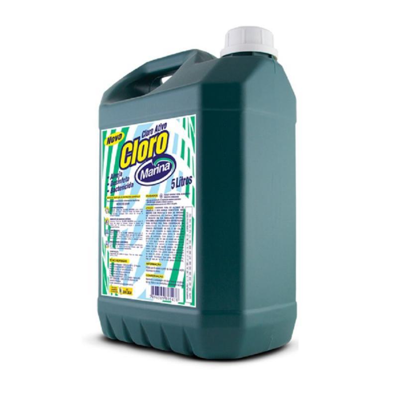Super Cloro Ativo 6% 5 litros Marina