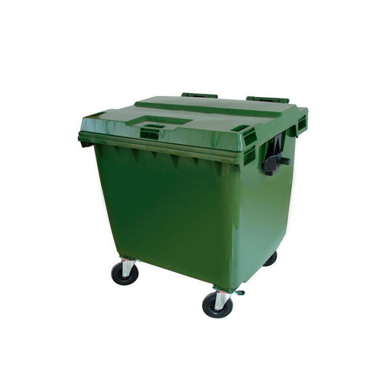 Container 1.000 litros com Rodas e Tampa