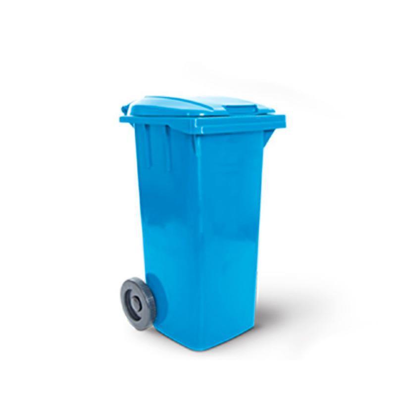 Container 120 litros Diversas Cores com Rodas e Tampa