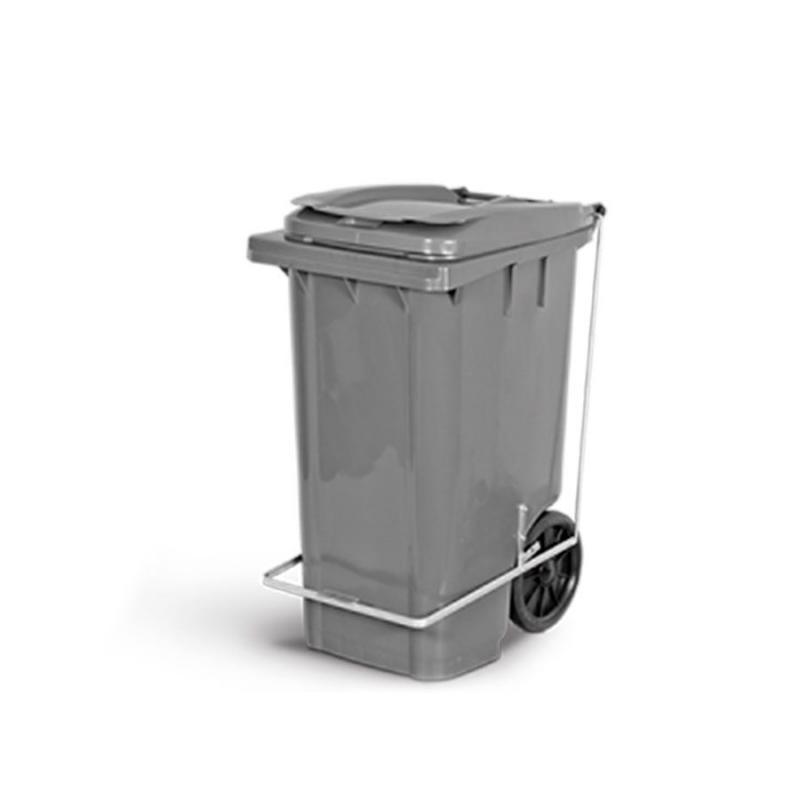 Container 240 litros Diversas Cores com Rodas, Tampa e Pedal