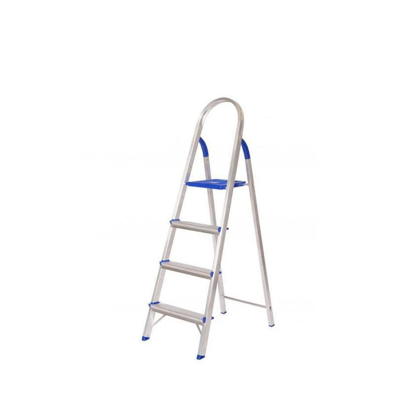 Escada Doméstica Alumínio 4 Degraus