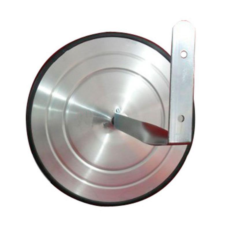 Espelho Convexo 50 cm com borda de Borracha