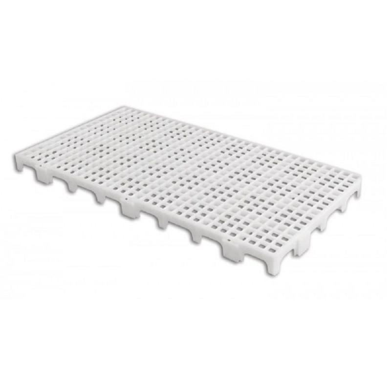 Estrado Plástico Branco 25 x 50 x 2,5 cm