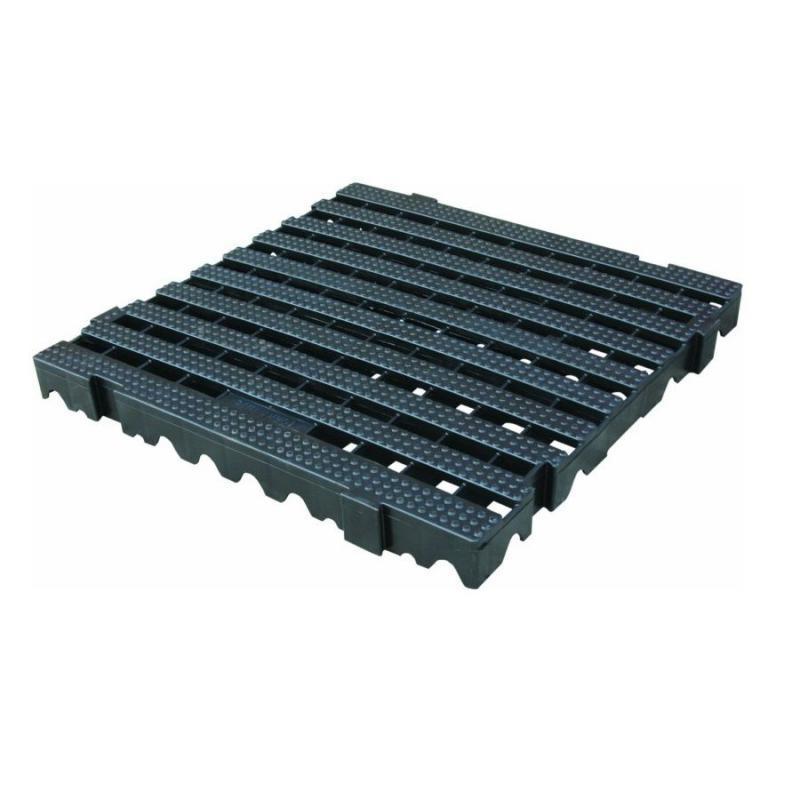 Estrado Plástico Preto 50 x 50 x 4,5 cm