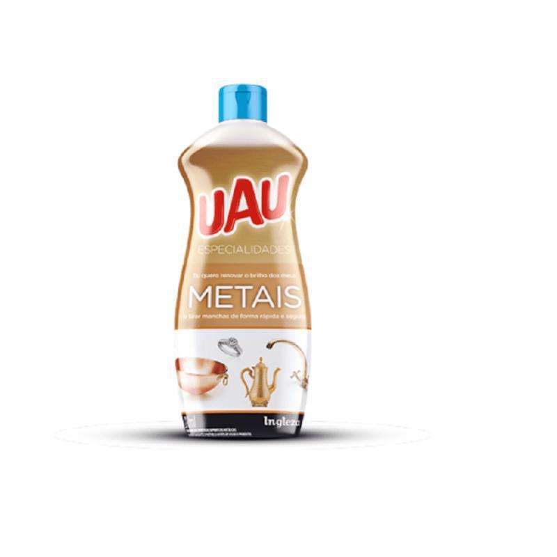 Limpa Metais 200 ml UAU Especialidades