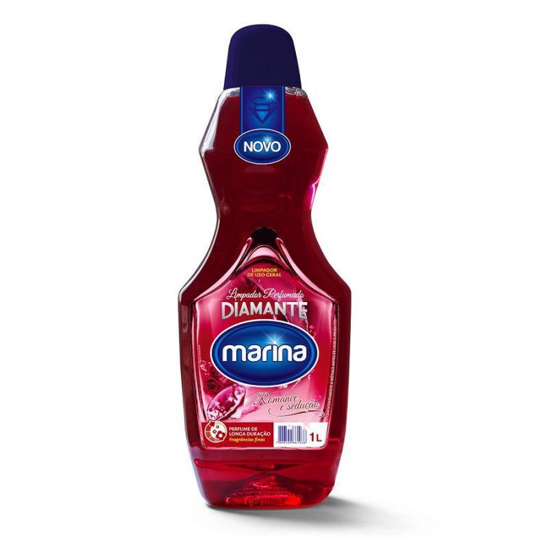 Limpador Perfumado Romance e Sedução 500 ml Marina