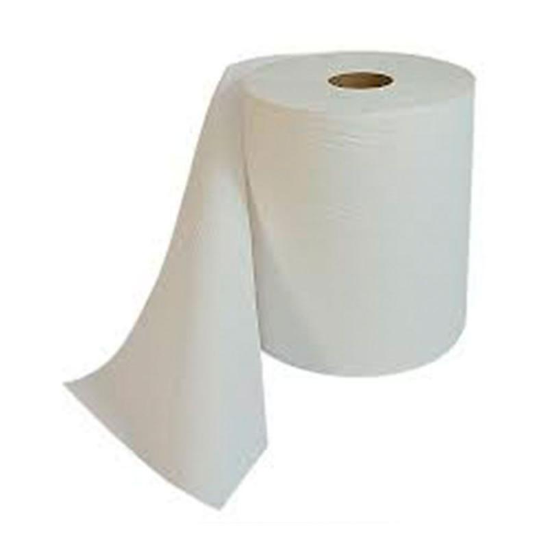 Papel Toalha Bobina Branco 200mt x 6uni