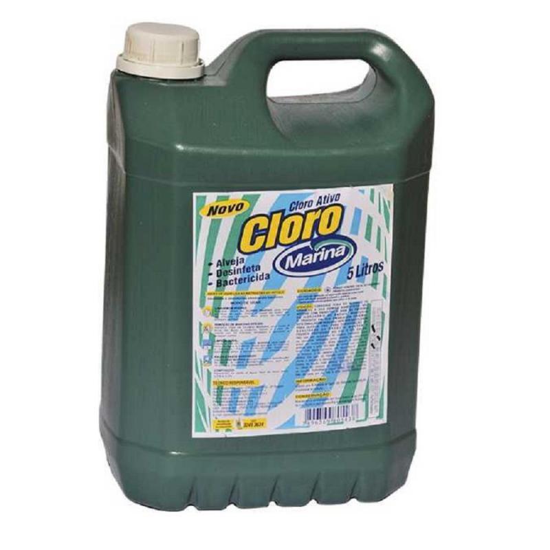 Super Cloro Ativo 5 litros Marina