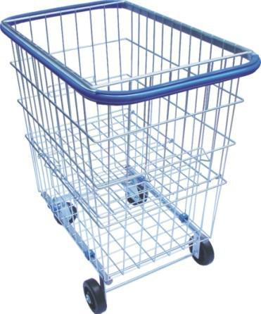 Carrinho aramado para compras