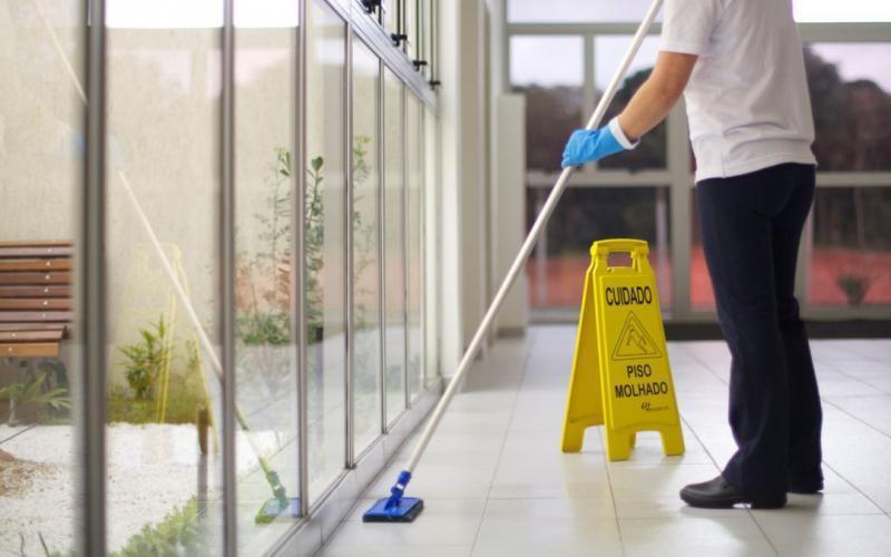 Equipamentos para limpeza de condominios