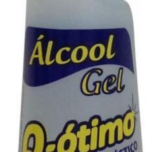 Álcool gel e líquido